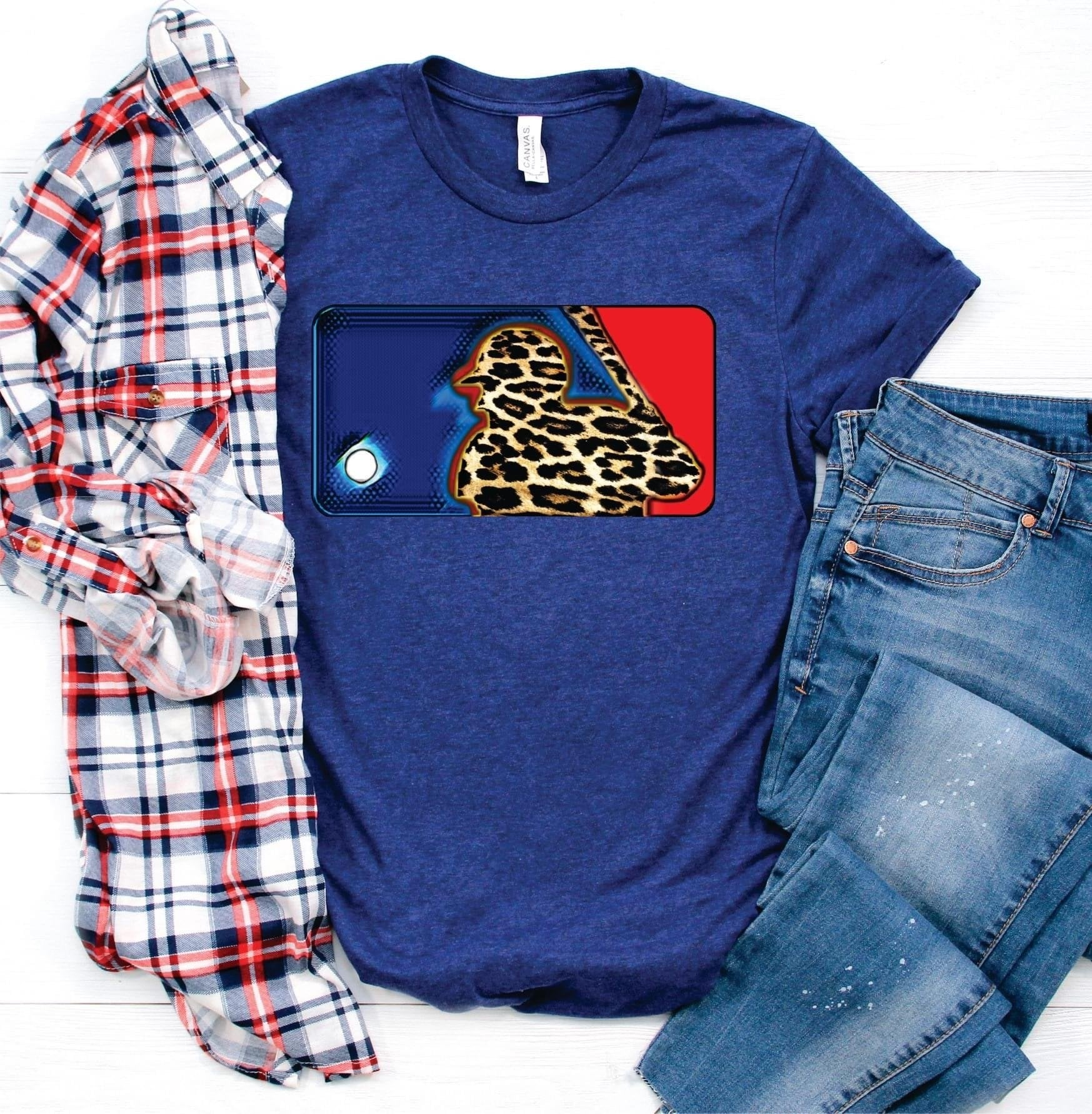 MLB leopard baseball--Shop-Absolute Paris Boutique-Womens-Clothing-Store