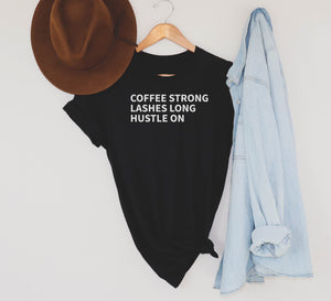 Coffee and lashes black-TOP-Shop-Absolute Paris Boutique-Womens-Clothing-Store