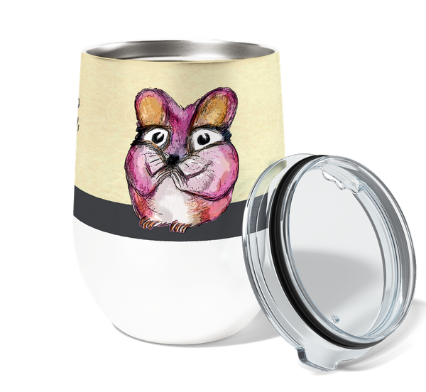 Queso Mouse Wine Tumbler-Gift-Shop-Absolute Paris Boutique-Womens-Clothing-Store