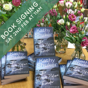 Book Launch - 'The Silence before Thunder' by Kathy Shuker