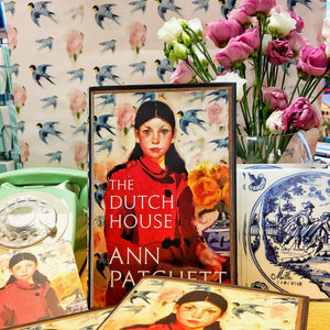 The Dutch House by Ann Patchett at the Harbour Bookshop in Kingsbridge Devon