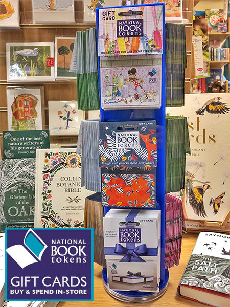 National Book Token stand at Harbour Bookshop