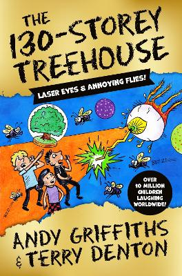 The 130-Storey Treehouse by Andy Griffiths - SIGNED