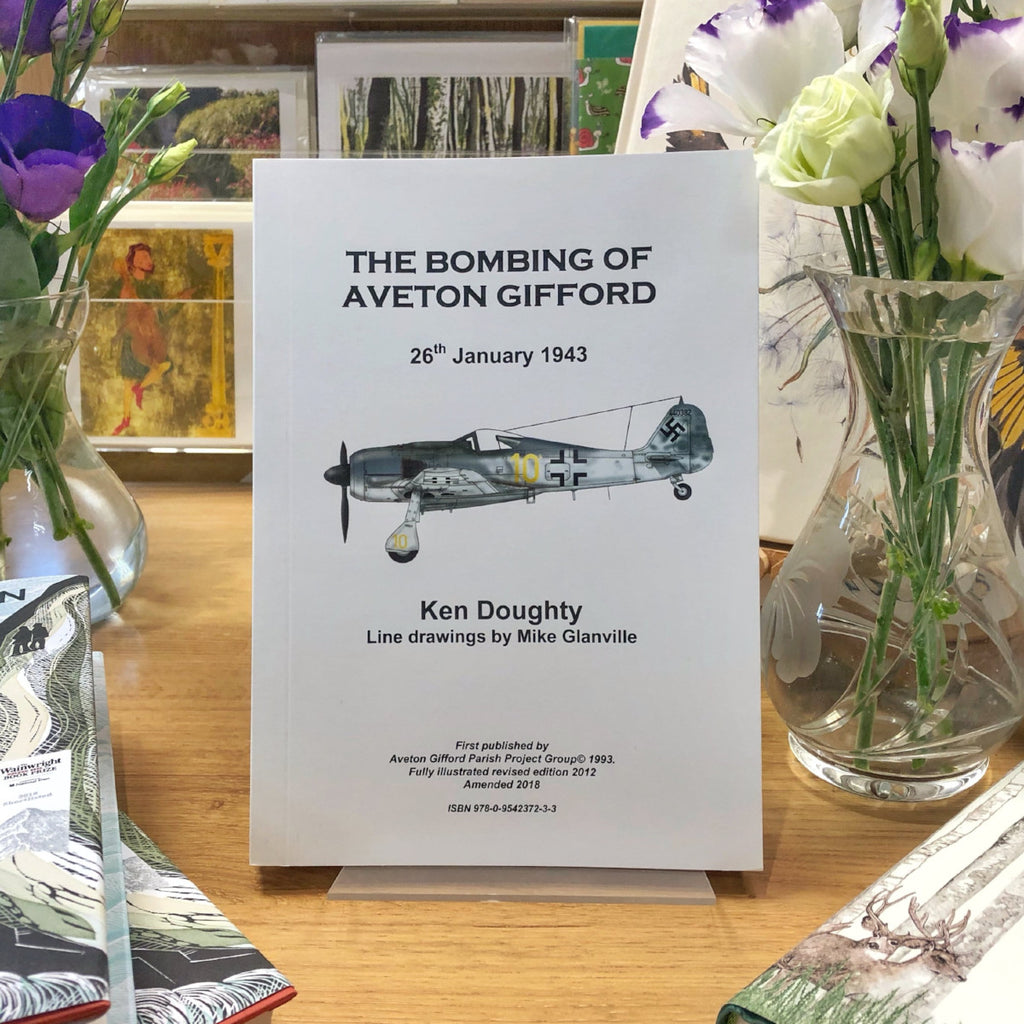 The Bombing of Aveton Gifford by Ken Doughty - Harbour Bookshop