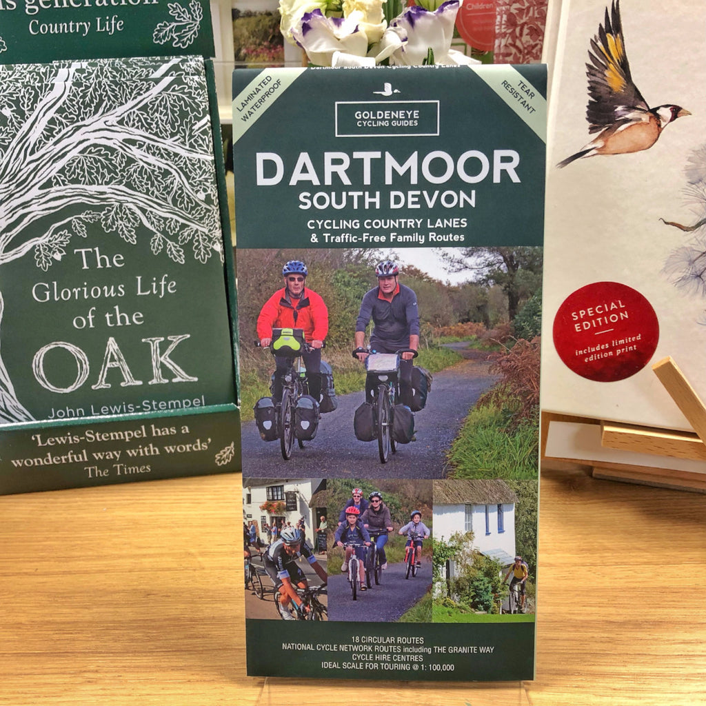 Dartmoor South Devon Cycling Country Lanes & Traffic-Free Family Routes by Al Churcher - Harbour Bookshop