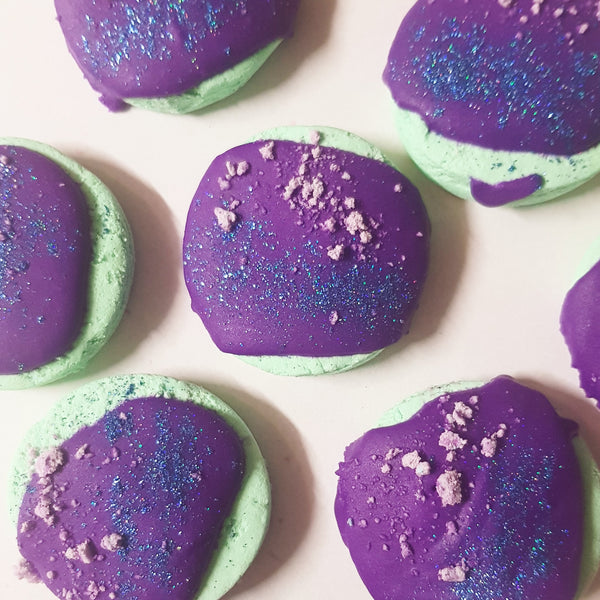 GALAXY DUST Cookie Bubble Bar - 50 grams