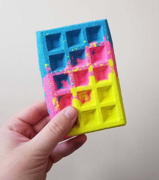 Lets Get Physical Waffle Bath Bomb
