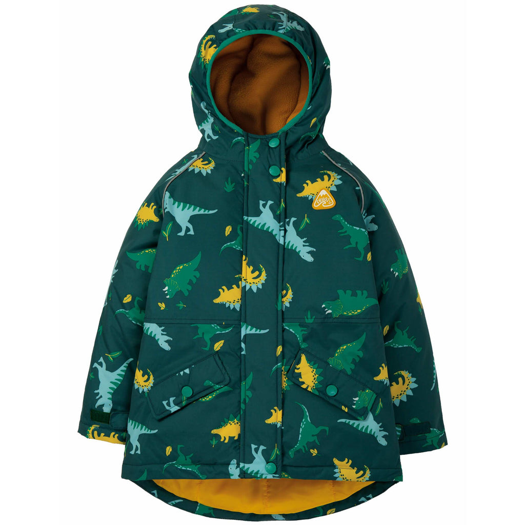 Geaca impermeabila ploaie Frugi, Giant Dino Filed