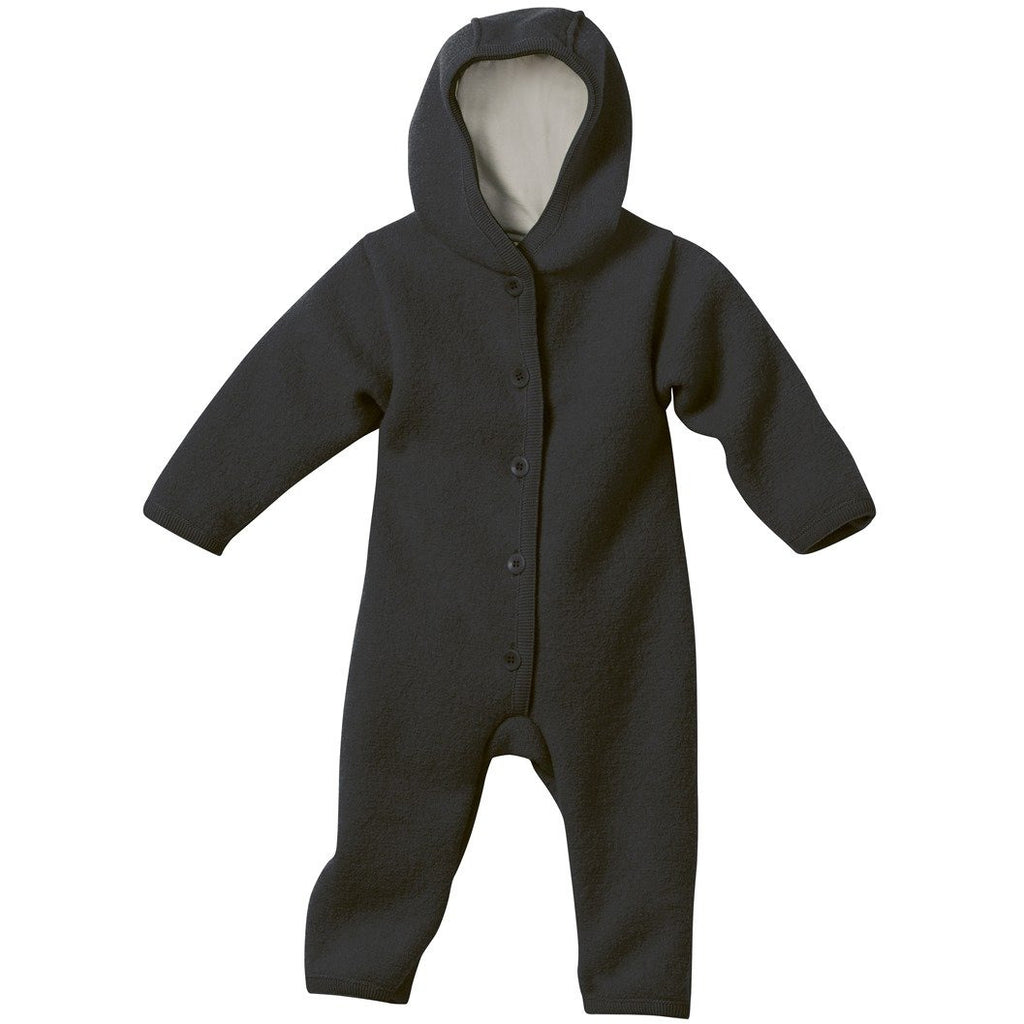 Overall Disana boiled wool din lana merinos 100% organica - Anthracite