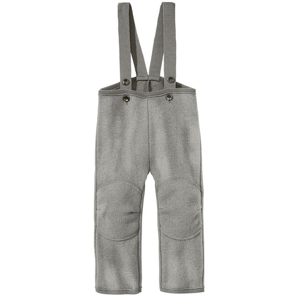 Pantaloni copii Disana boiled wool din lana fiarta 100% organica - Grey