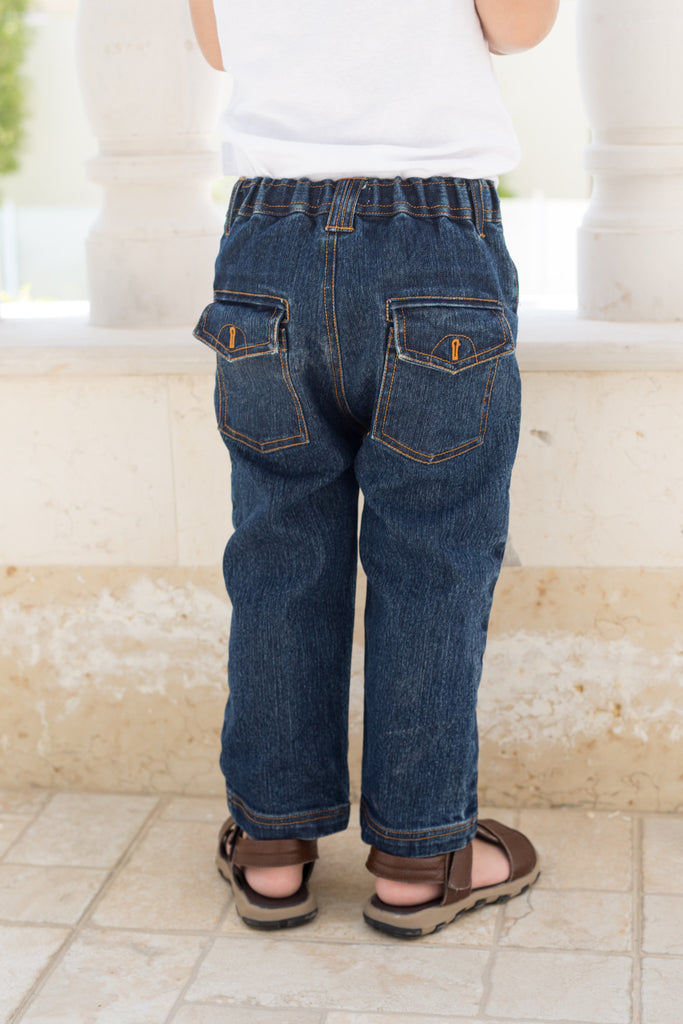 Boy's Dark Wash Jeans