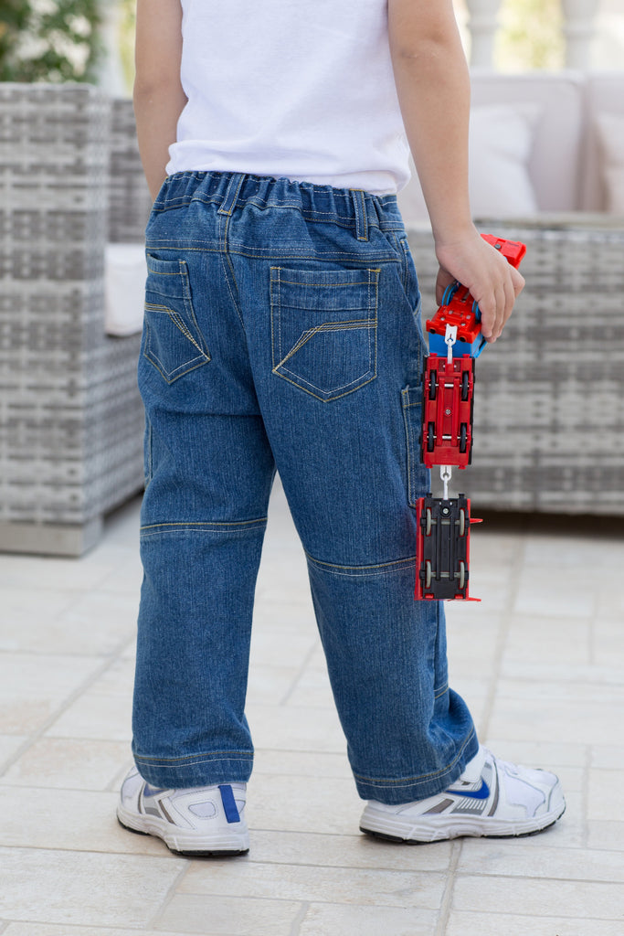 Boy's Light Wash Jeans