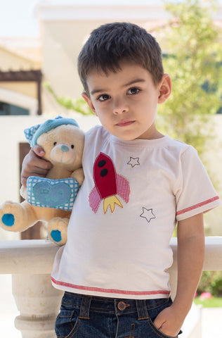 Boy's Headset Applique Tee