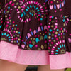 Girl's Dotted Tiered Skirt