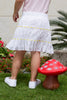 Girl's Broderie Anglaise Tiered Skirt