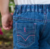 Girl's Soft Wash Jeans