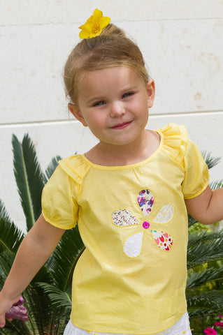 Girl's Sunshine Cotton Dress