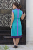 Maternity Color Blocked Jersey Dress