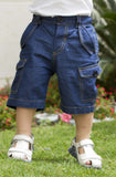 Boy's Smart Denim Shorts