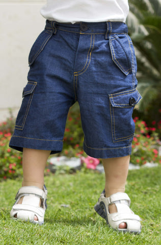 Boy's Casual Cotton Shorts