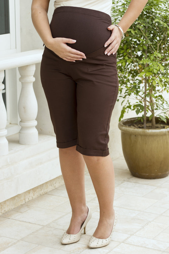Maternity Pull-on Shorts