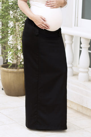 Maternity Pull-on Skirt