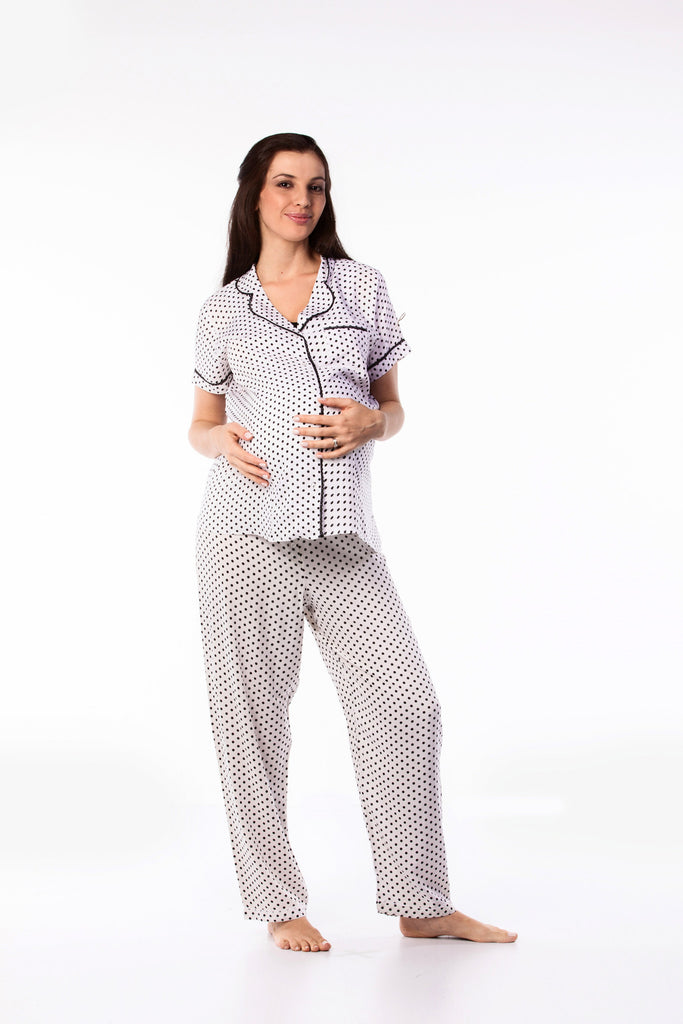 Maternity Viscose PJ Set