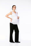 Maternity Trousers with Turn-Back Cuffs