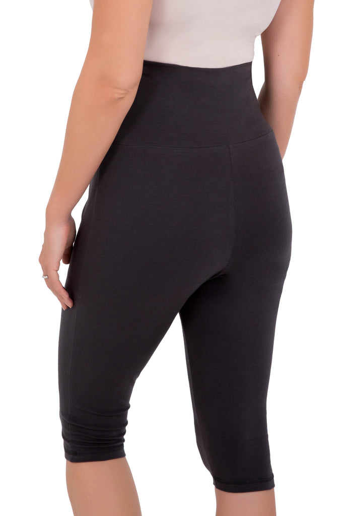 Maternity Go- Active Capris Black