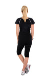 Maternity Go-Active Top Black