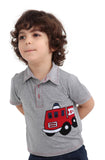 Boy's Red Truck Tshirt