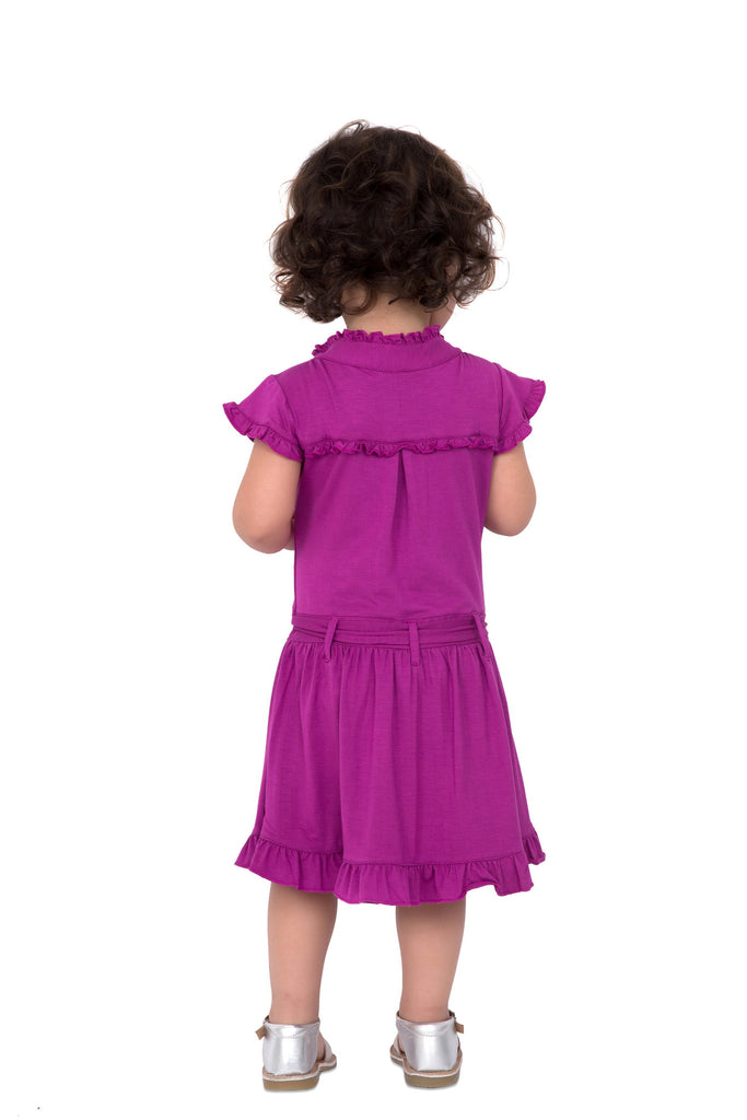 Girl's Fuschia Dress