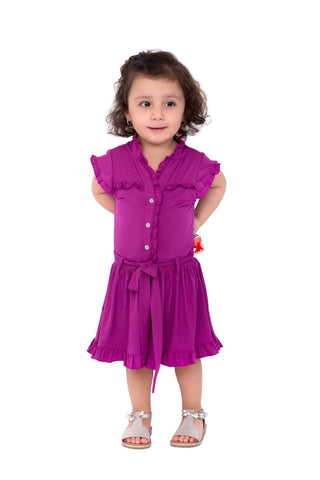 Girl's Adorable Flared Dress