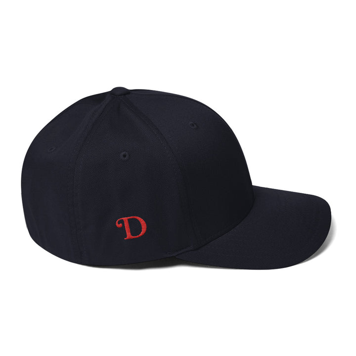 Red D - Structured Twill Cap / Hat