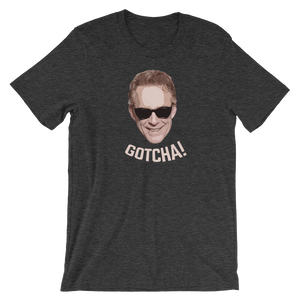 Jordan Peterson - Gotcha! Short-Sleeve Unisex T-Shirt