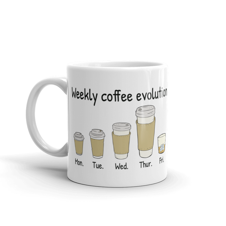 Weekly coffee evolution Mug