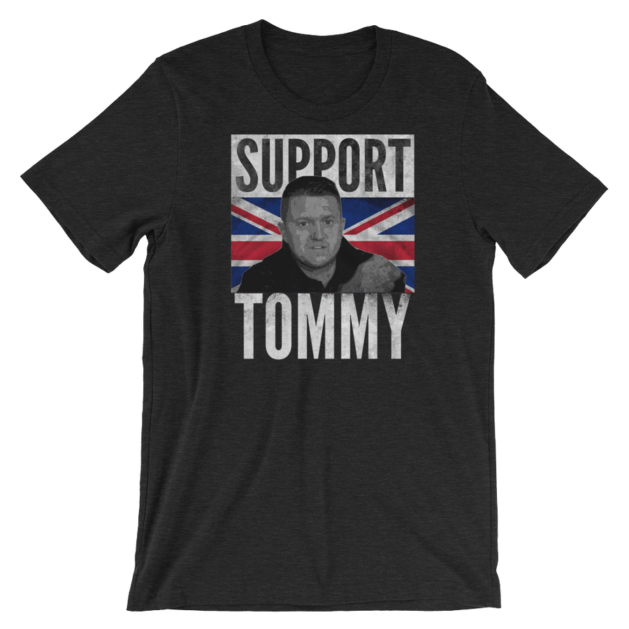 Support Tommy - Short-Sleeve Unisex T-Shirt