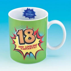 18 And Looking Fantastic Mug | kitchenware | Affordable gifts for him for her at giftpunk.com - FREE delivery