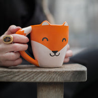 Fox Mug | kitchenware | Affordable gifts for him for her at giftpunk.com - FREE delivery