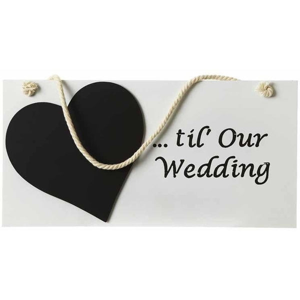 ...til' Our Wedding - Sign - giftpunk.com