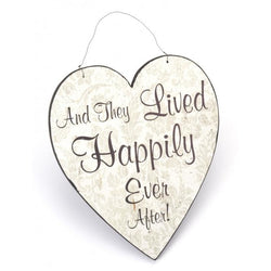 And They Lived Happily Ever After! - Heart Sign - giftpunk.com