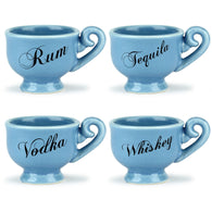 Tea Party Shot Glasses - Barbuzzo | kitchenware | Affordable gifts for him for her at giftpunk.com - FREE delivery