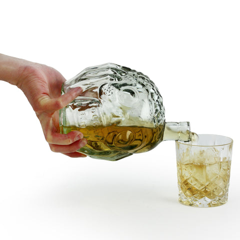 Zombie Head Decanter | kitchenware | Affordable gifts for him for her at giftpunk.com - FREE delivery