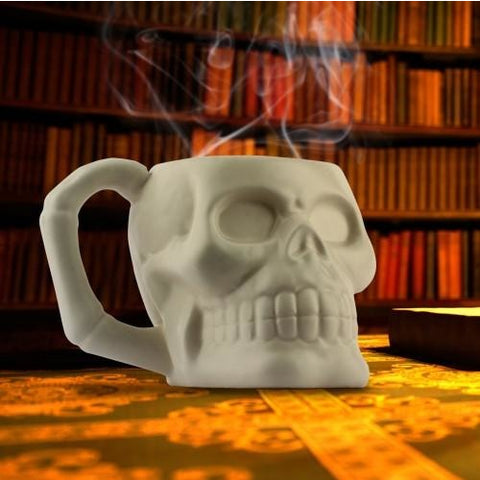 Skull Mug | kitchenware | Affordable gifts for him for her at giftpunk.com - FREE delivery