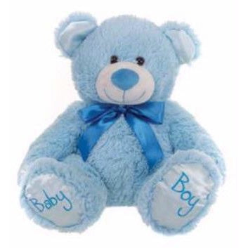 Baby Boy Blue Bear - Baby Paws | toys | Affordable gifts for him for her at giftpunk.com - FREE delivery