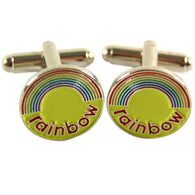 Rainbow Cufflinks | accessory | Affordable gifts for him for her at giftpunk.com - FREE delivery