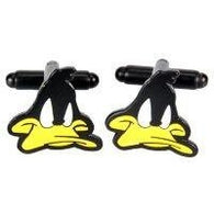 Daffy Duck Cufflinks | accessory | Affordable gifts for him for her at giftpunk.com - FREE delivery