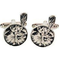 Captain Caveman Cufflinks | accessory | Affordable gifts for him for her at giftpunk.com - FREE delivery