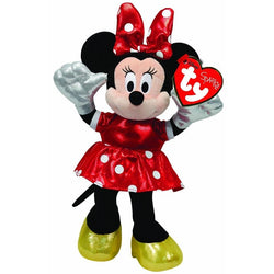 TY Disney - Minnie Mouse Red Sparkle (with sound) - giftpunk.com