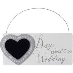 Days Until Our Wedding - Sign - giftpunk.com